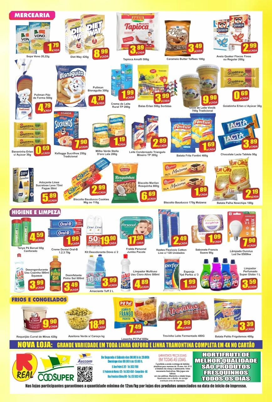 Economize de verdade com as OFERTAS do Supermercado Real