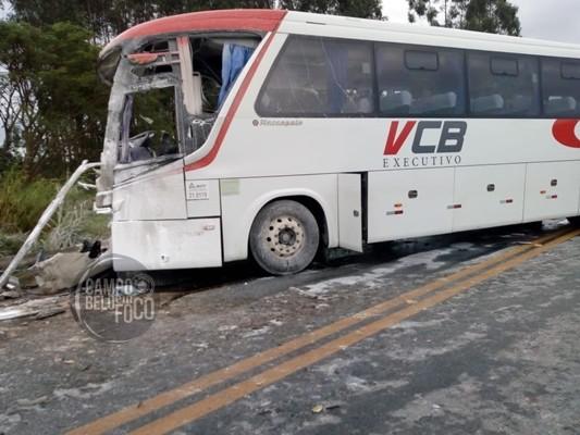 Três pessoas morreram e 7 ficaram feridas em um grave acidente na BR-354, em Campo Belo