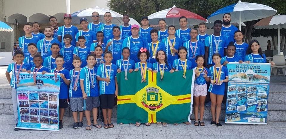 """Atletas do """" Esporte Para Todos"""" brilham na II Fase da Copa Minas Gerais de Natação"""