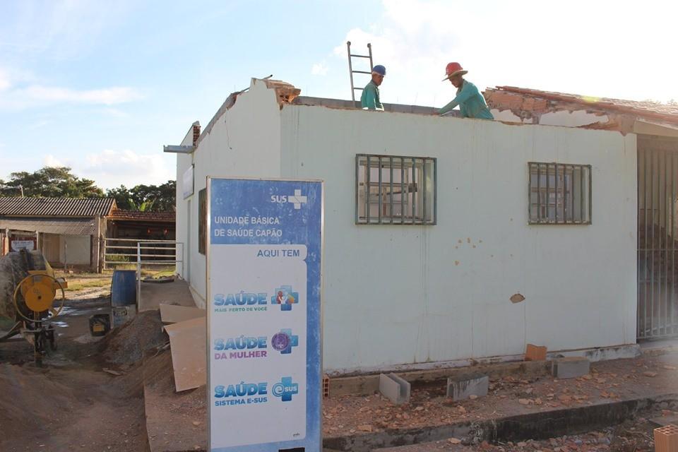 Prefeitura trabalha na reforma e ampliação do PSF do Capão