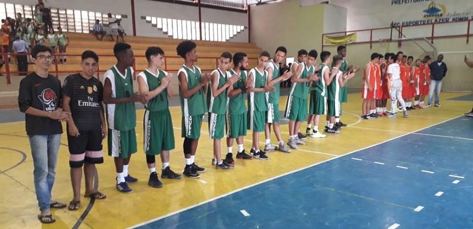 Equipe de Basquete da Escola Estadual José Monteiro representará Campo Belo na Fase Regional do JEMG 2019