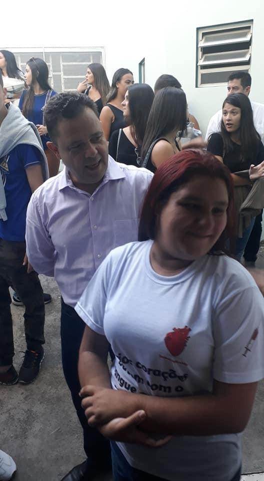 Vice-prefeito acompanha deputado Mauro Lopes em visita à Santa Casa