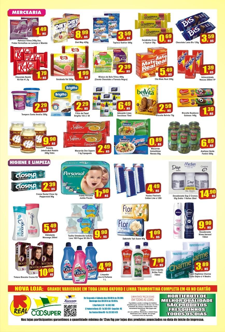 Arraia de Ofertas no Supermercado Real, confira!