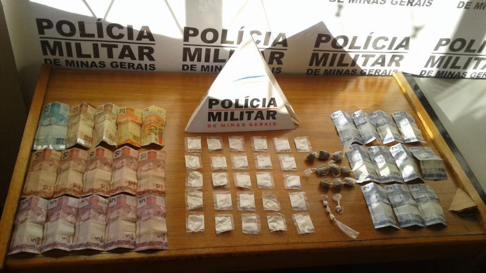 Traficante é preso em flagrante comercializando drogas no bairro Residencial Jardim II