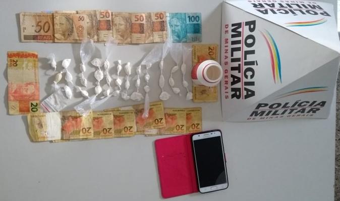 Mulher de traficante é presa durante Operação da Polícia