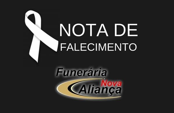 Informamos o Falecimento de Maria dos Anjos Alves - Falecido em 22 de Julho