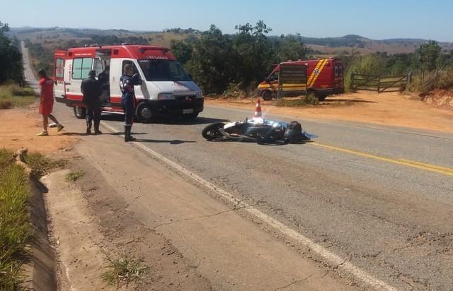 Motociclista morre ao sofrer queda de moto na BR-369