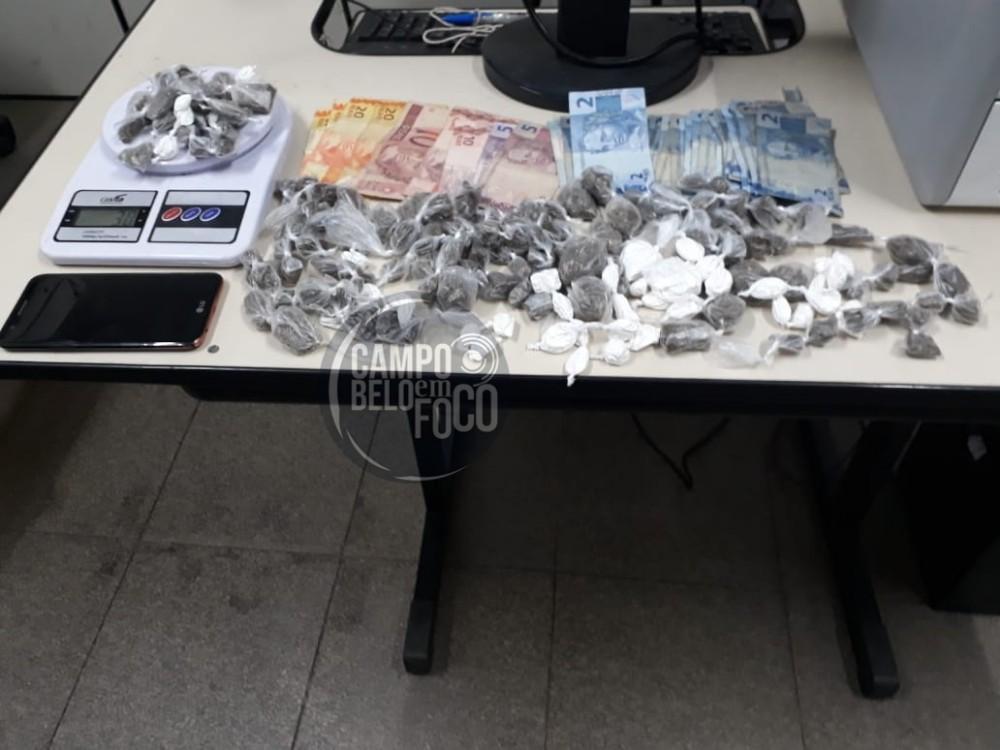 Vereador é preso com drogas em sítio na cidade de São Francisco de Paula