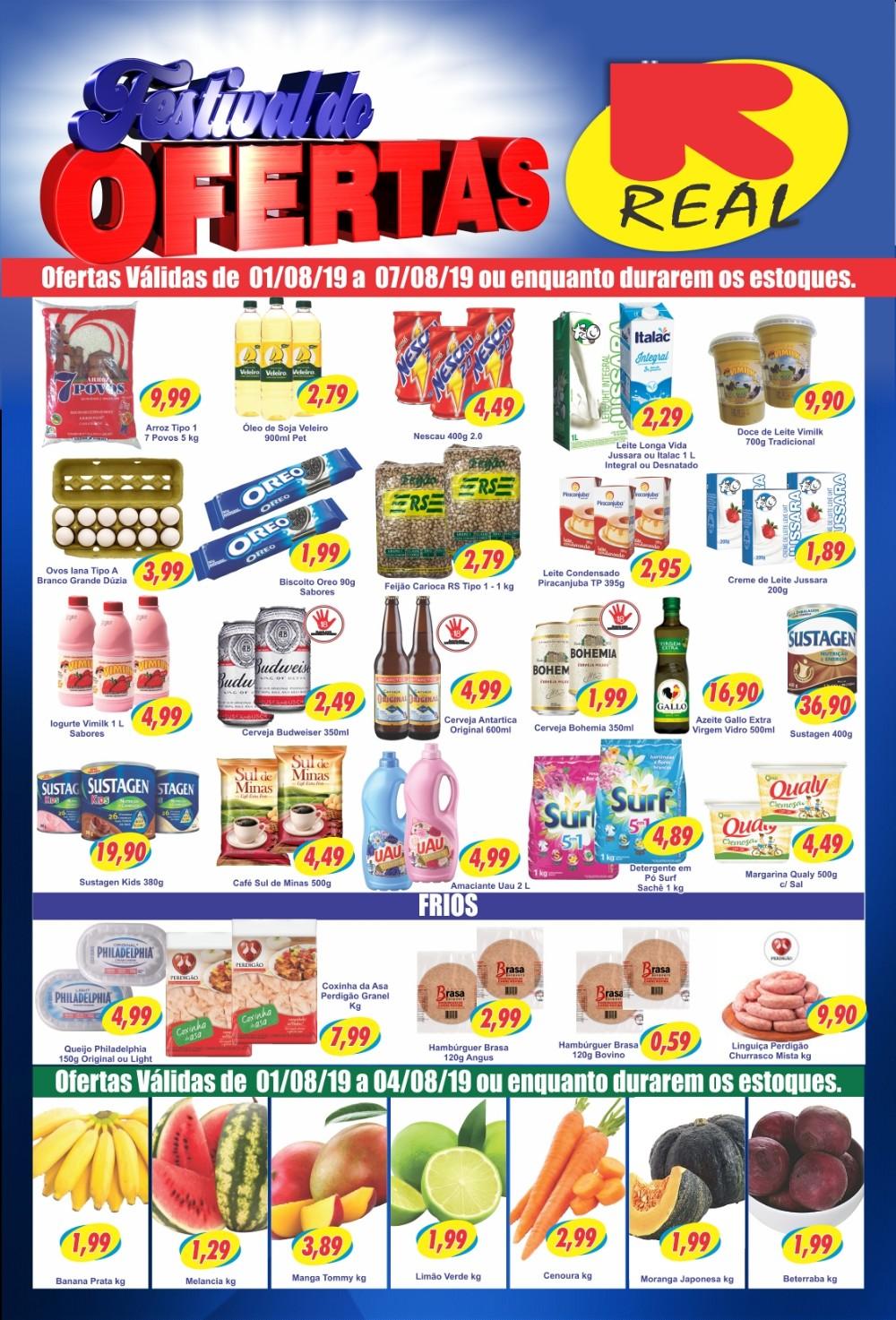 Ofertas incríveis no Supermercado Real, confira!