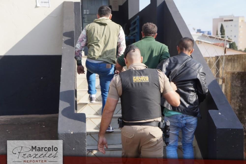 Polícias Civil e Militar prendem quadrilha de furto de gado que agia na região