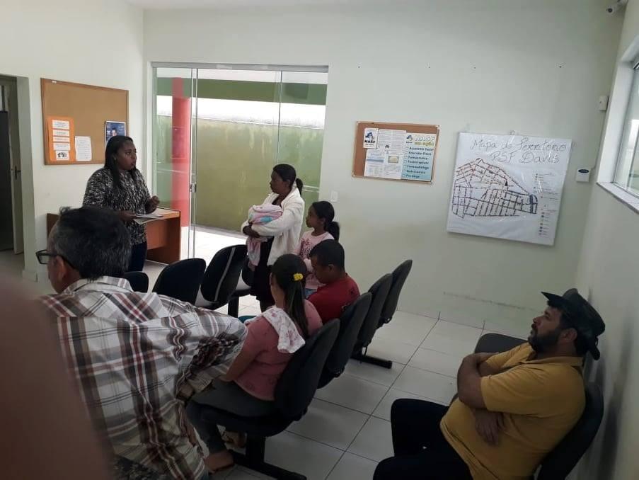 Secretaria de Saúde realiza ações educativas em todas as UBSs
