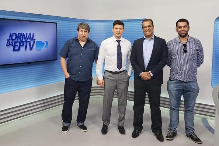 Prefeito Dr. Alisson vai à EPTV solicitar rapidez na migração para o Sinal de TV Digital para Campo Belo