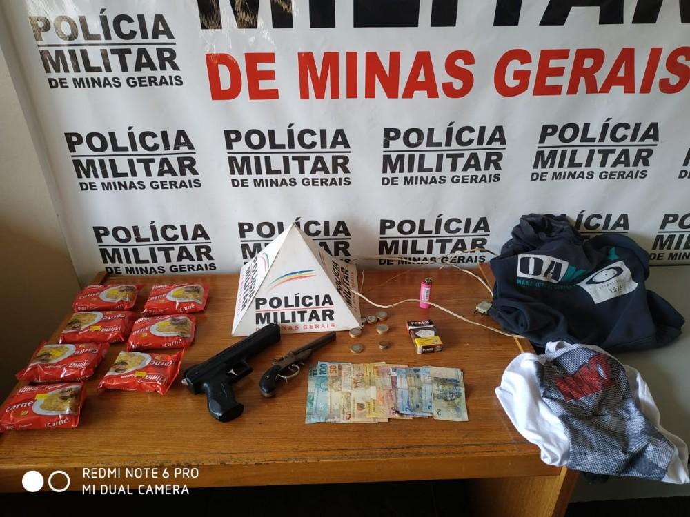 Assaltantes são presos após intenso rastreamento da Polícia Militar