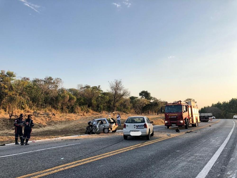 Uma pessoa morreu em um grave acidente na MG-050 em Formiga