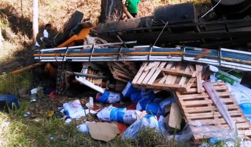 Motorista morre em grave acidente na MGC-354 em Lavras/MG