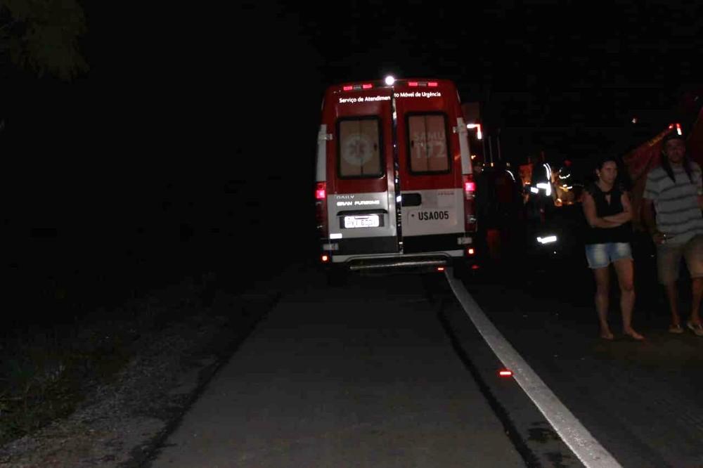Acidente grave é registrado na BR-354, próximo a Toscano de Brito, veja a reportagem completa!