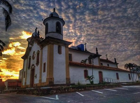 Click do Dia: Igreja Velha Matriz em Campo Belo/MG