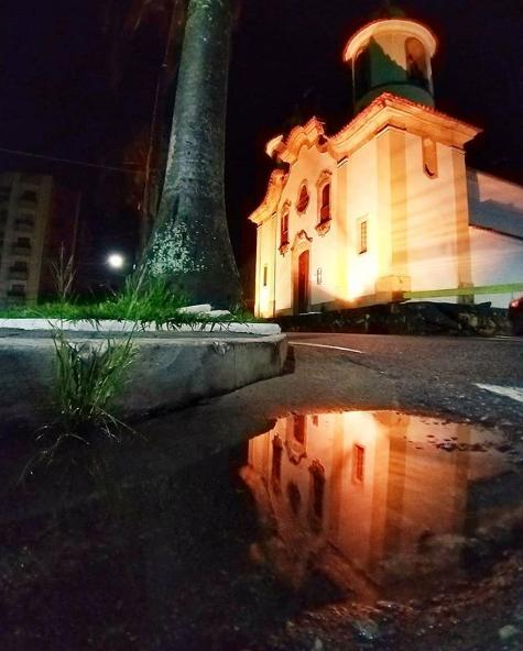 Linda foto tirada da Igreja Velha Matriz em Campo Belo-MG