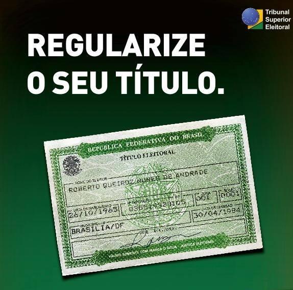 Eleitores podem regularizar ou transferir seu título pela internet, saiba como!