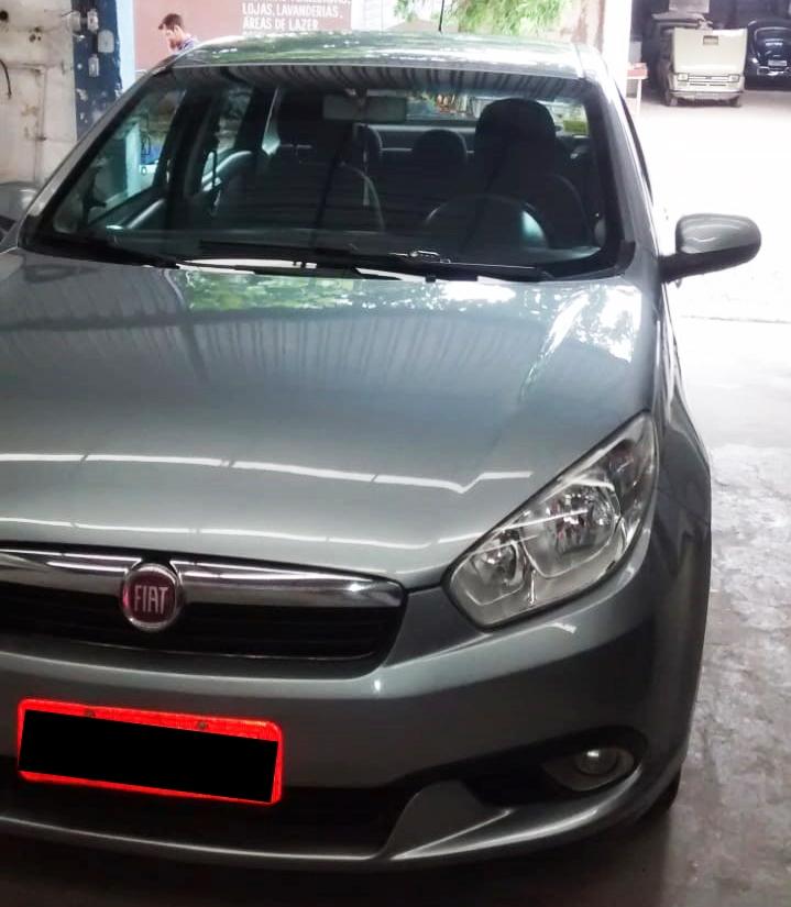 Pintacar - Confira a recuperação realizada em um Fiat/Grand Siena