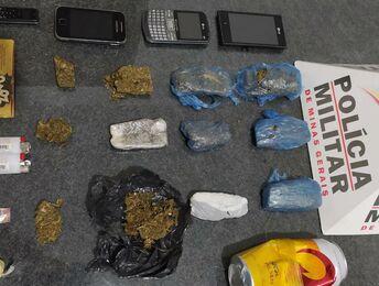 Candeias/MG - Adolescentes são apreendidos antes de arremessarem drogas para dentro de presídio