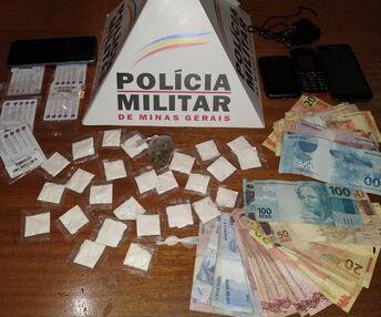 Traficante é preso tentando repassar drogas para dentro de presídio em Candeias/MG