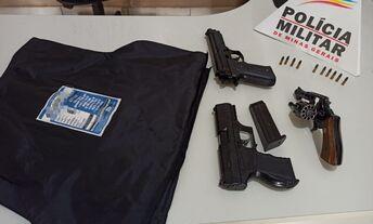Arma de fogo, réplicas e munições são apreendidos em Santana do Jacaré/MG